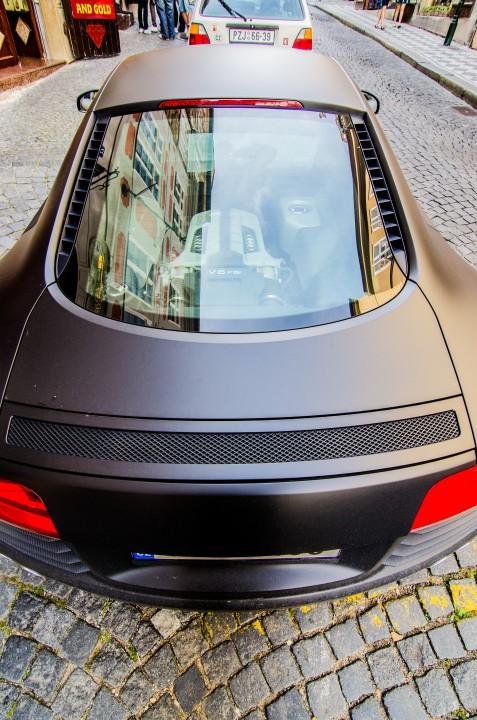 Audi R8 Praag
