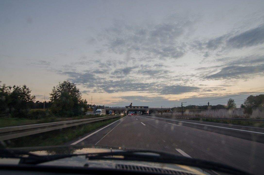 BMW 518I E28 autobahn