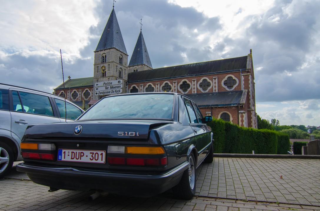 BMW 518I E28 overladen