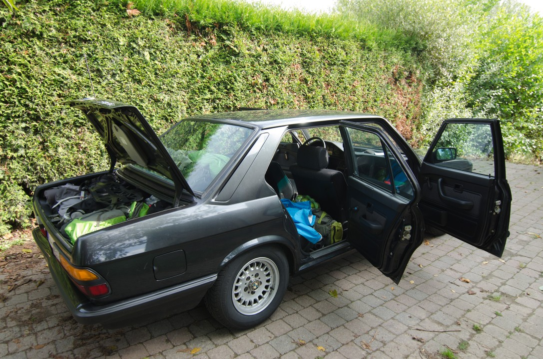 BMW 518I E28 Volle koffer