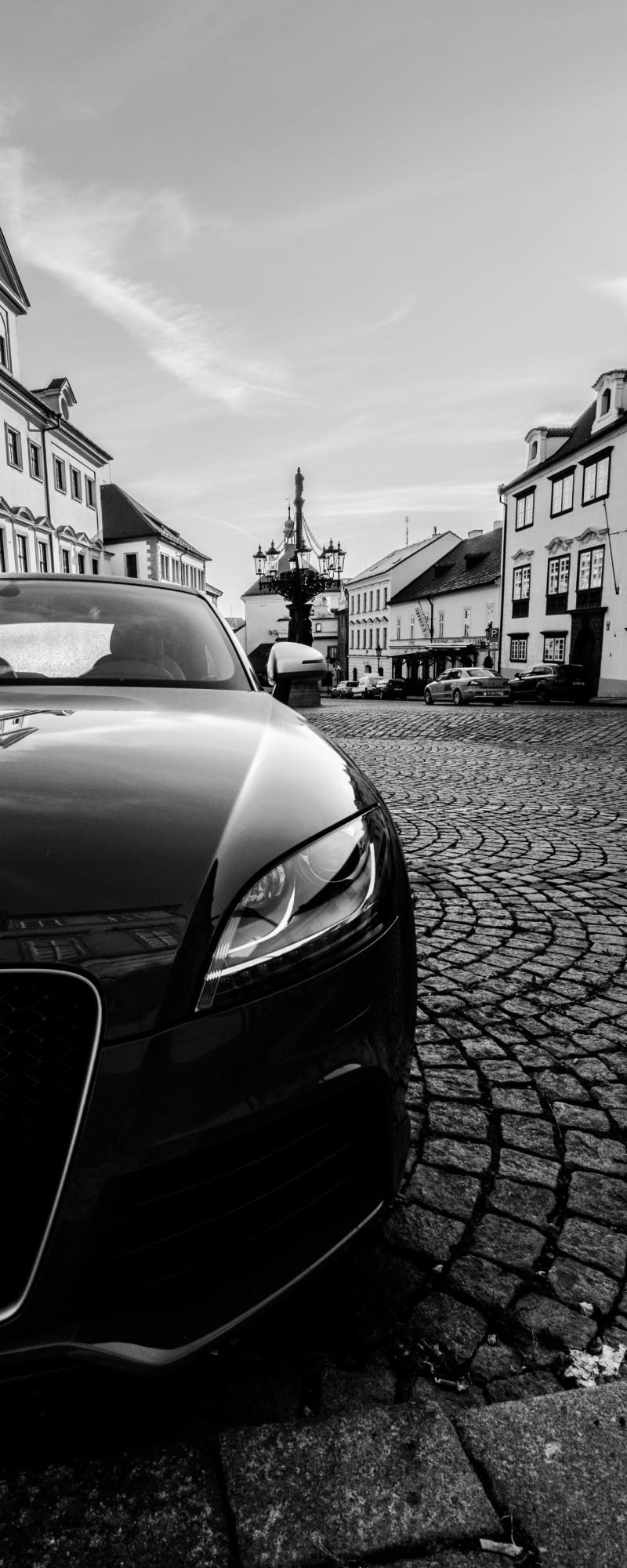 Audi A4 in Prague