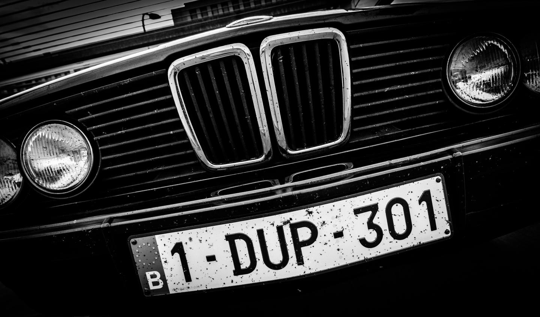 BMW E28 518i nose