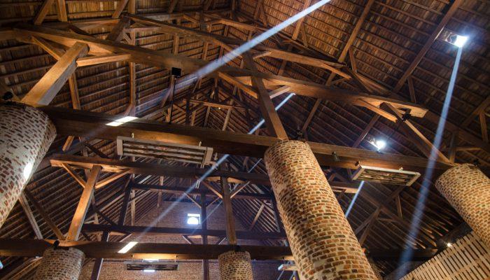 Grain storage, abbey Rammée