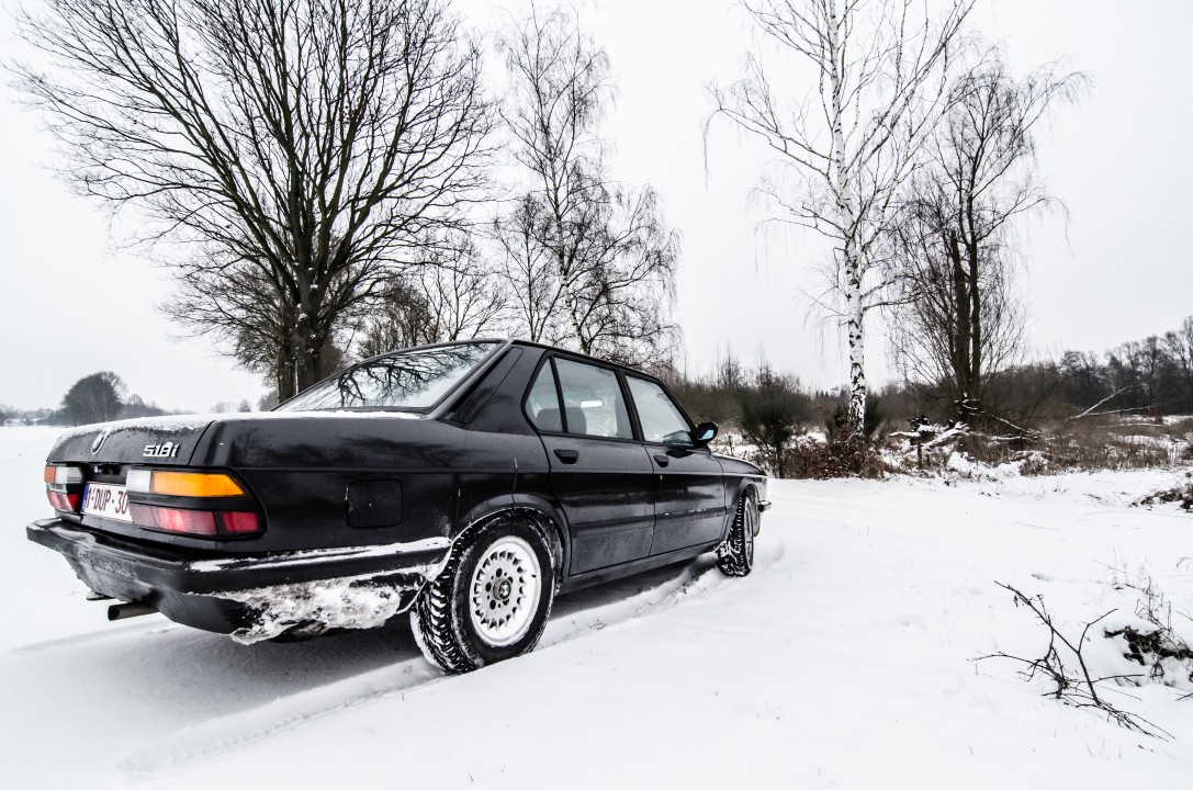 E28 in winter