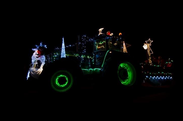 3de Tractorkerstrun DSC_3175 3de plaats
