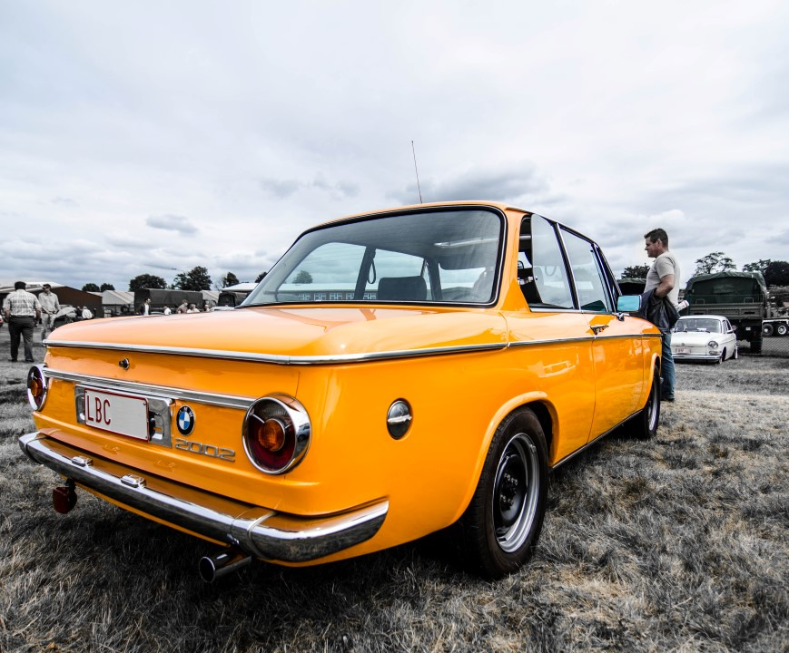 BMW 2002 @ Oldtimer Fly In