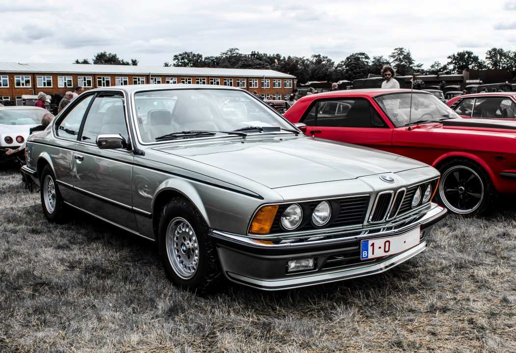 BMW E24 @ Oldtimer Fly In