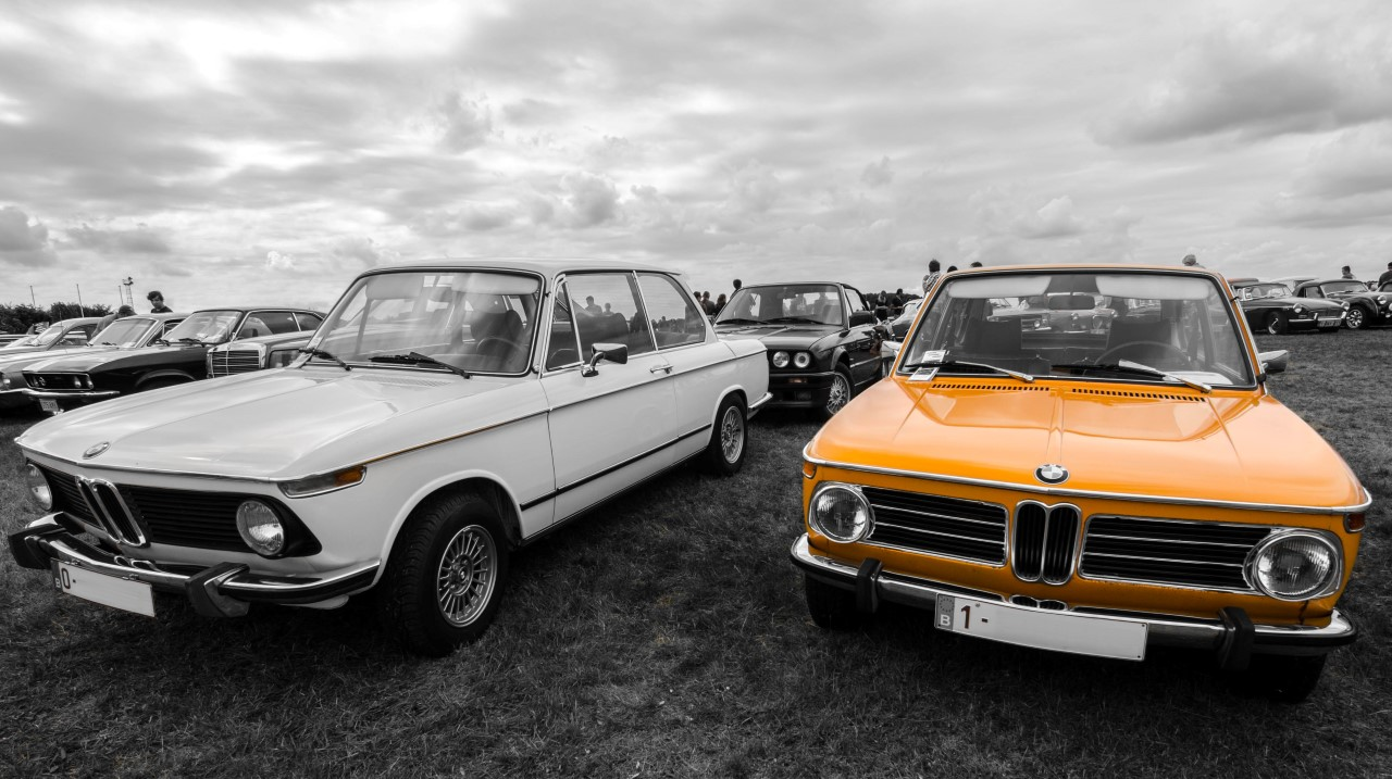 BMW's @ Oldtimer Fly In