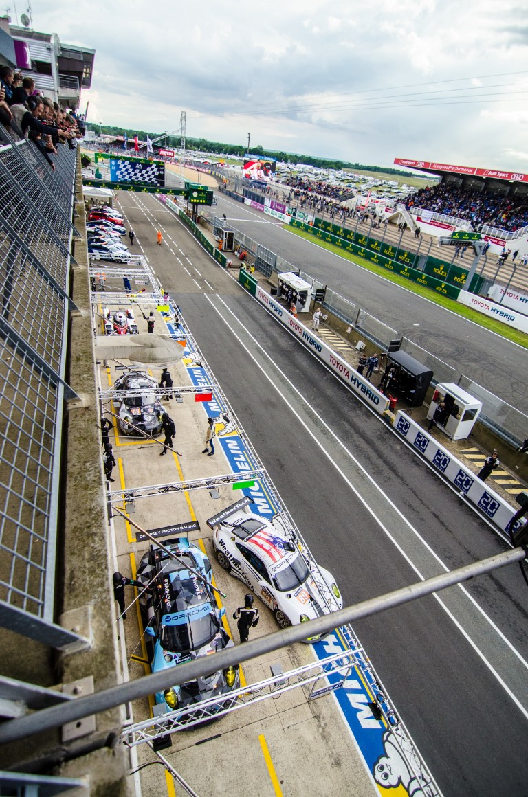 Le mans from above (2016)
