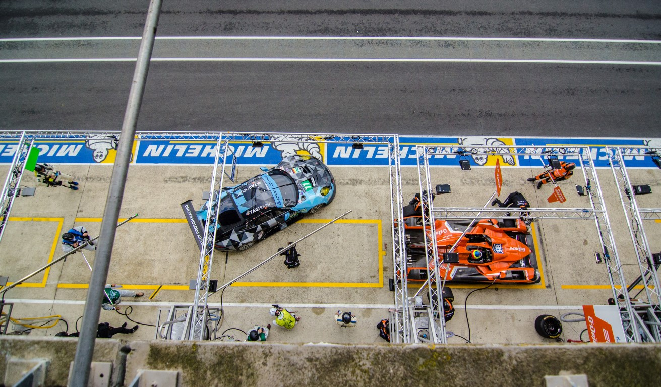 Le Mans 2016 from above